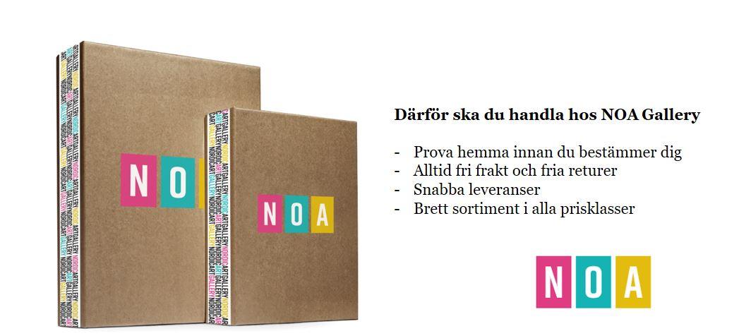 Här är fördelarna med att handla på NOA Gallery