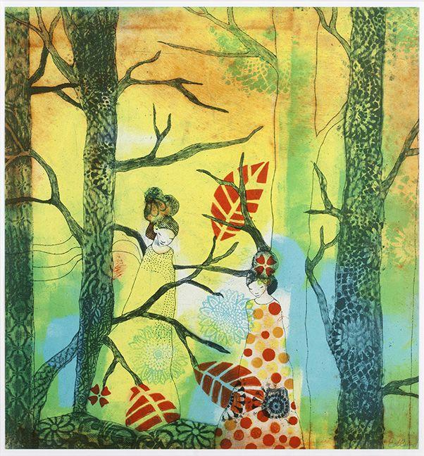 Together av Catharina Edlund med inspiration av Japan.