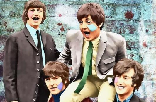 Per Siwmarks fantastiska porträtt av The Beatles