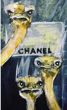 Konstnären Lisa Törners Must have Chanel, är självklar succé hos modeintresserade.