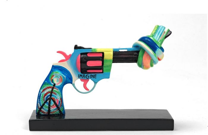 Ringo Starrs tolkning av The knotted gun är ett viktigt ställningstagande