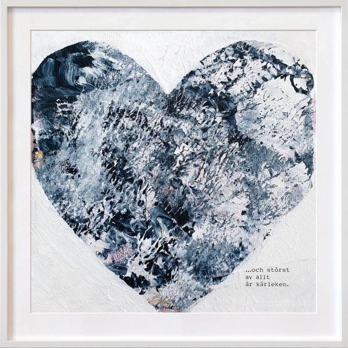 Och störst av allt är kärleken, skapad av Hanna Ekegren.