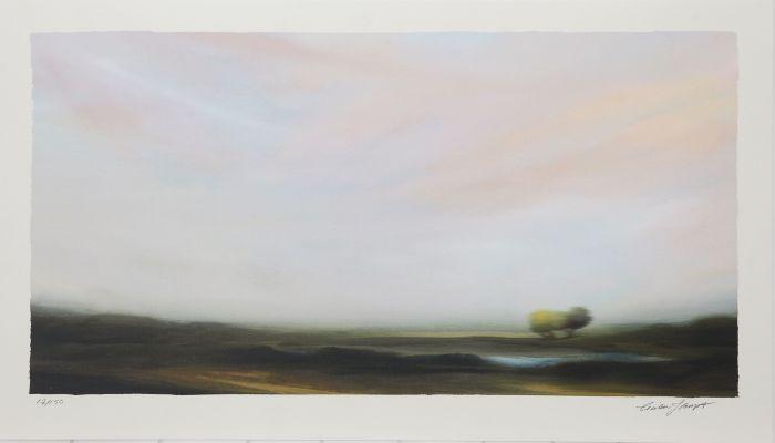 Längtans landskap III av Cecilia Haupt.